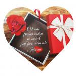 Tablou din lemn pentru persoana iubita